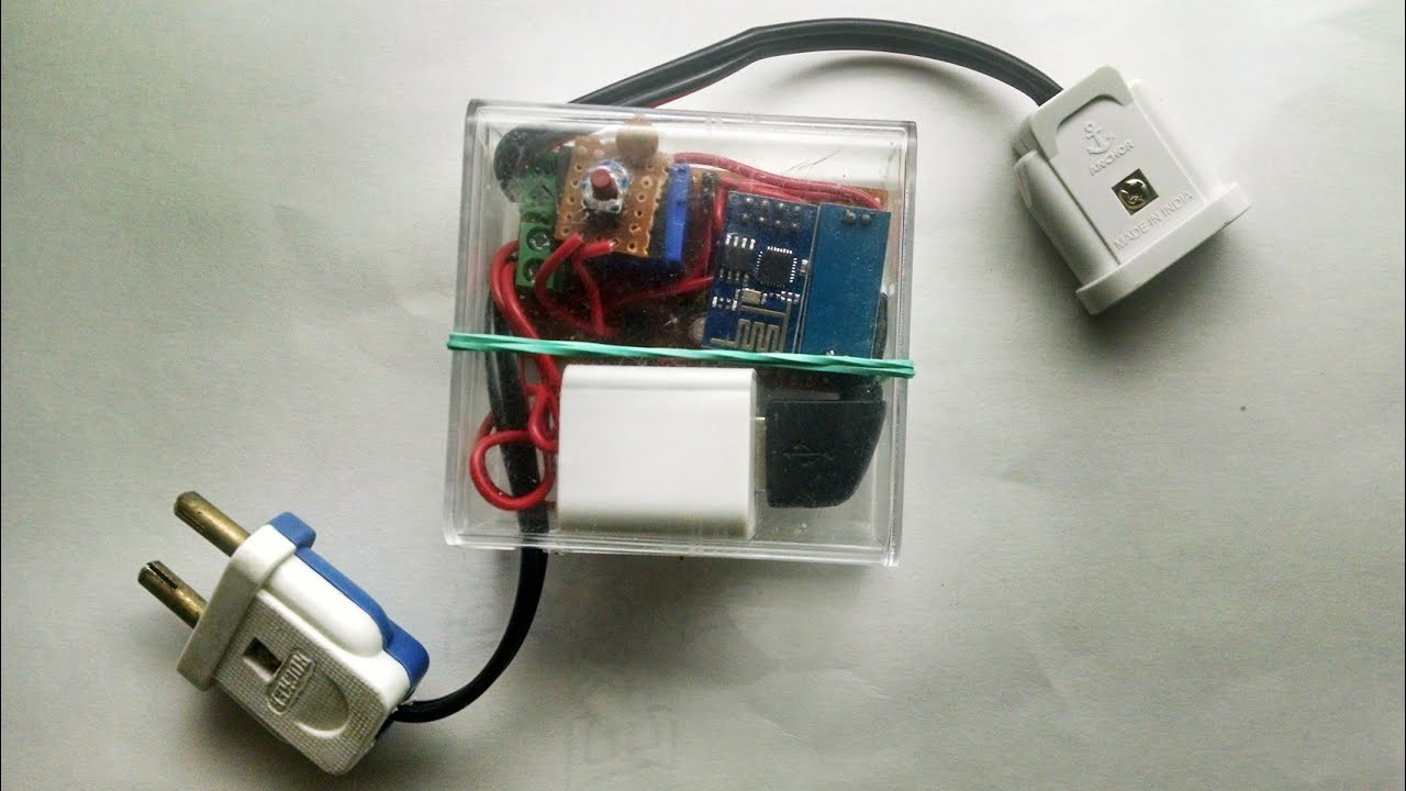 Self made, WiFi enabled, internet controlled Smart Plug - Demo ...