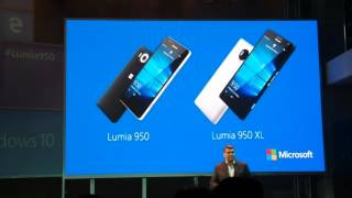 Презентация Lumia 950 & 950XL