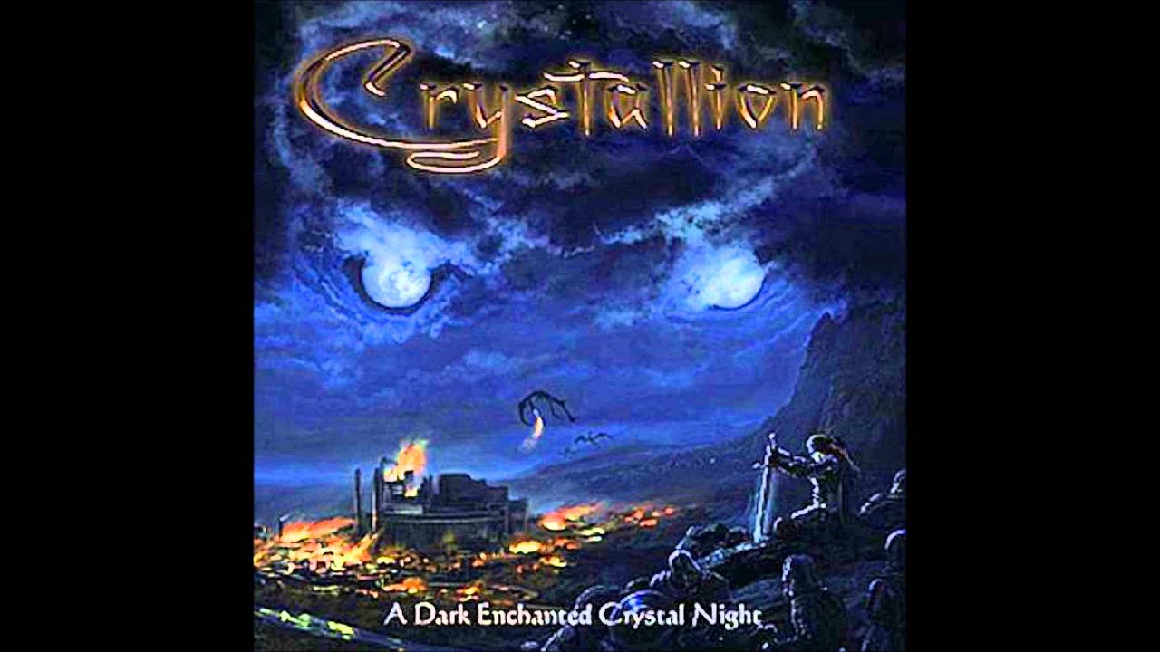 crystallion dark enchanted crystal night