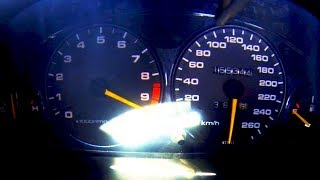 Honda Integra vtec Turbo Acceleration 0-300 SOUND