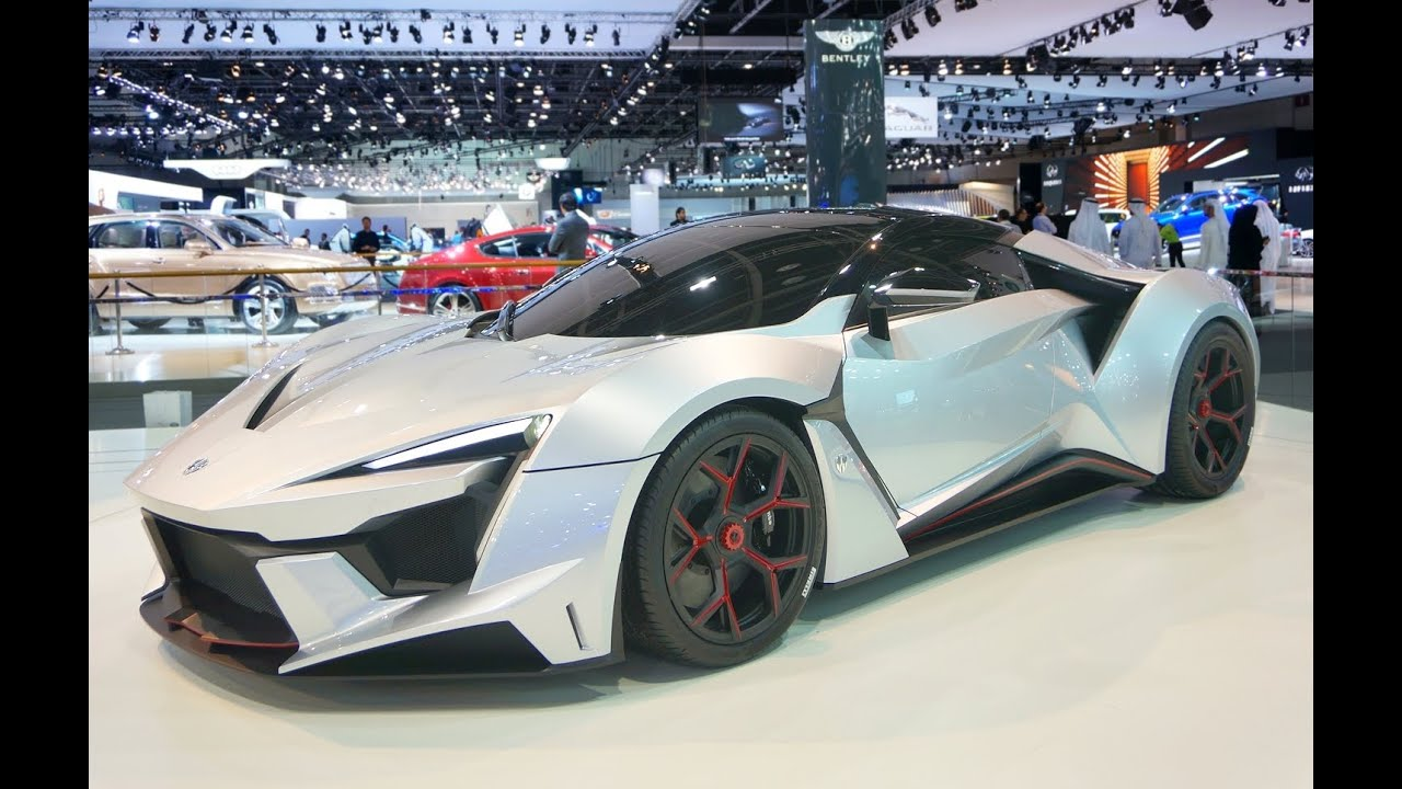 What Do You Think Of The New Fenyr Supersport: Fenyr SuperSport From W Motors At Dubai Motor Show 2015