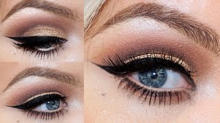 Naked Palette Tutorial - Bronze Cut Crease | Brianna Fox