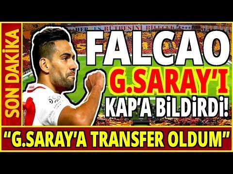 """Falcao Resmen Açıkladı! """"Galatasaray'a Transfer Oldum..."""" Youtube"""