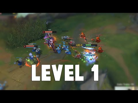 Here's How You Deal With Level 1 Ganks at League of Legends... | Funny LoL Series #623