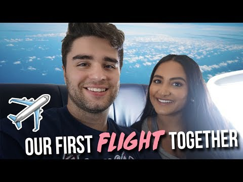 OUR FIRST FLIGHT TOGETHER & ARRIVING IN GRAND CAYMAN | 2017
