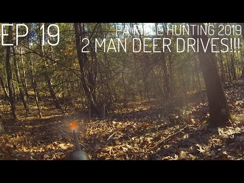 DROPPED IN ITS TRACKS!!! PA Rifle Hunting 2019 (2 Man Deer Drives) S. 1 Ep.19