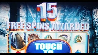 How to WIN $1,000 & Lose ??? $45 BET on WINTER WOLF Slot Machine in under 15 Minutes!