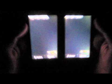 LG P990 Optimus Speed Display Bleeding - Vergleich 2er Optimus Speed