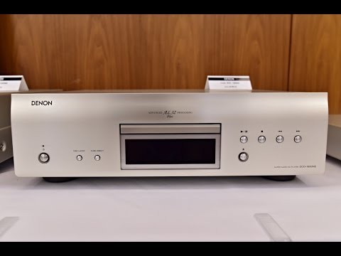 Denon DCD-1600 NE, the best of Denon - top Denon 2017 HIGH-END CD/SACD player