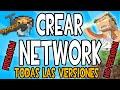 COMO CREAR UNA NETWORK EN MINECRAFT | HOW TO CREATE A MINECRAFT NETWORK
