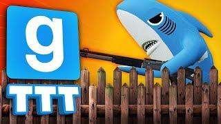 BREAKING INTO FORT SHARKY | Gmod TTT