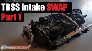 TBSS/ NNBS Intake Manifold swap GMT-800 Part 1 | AnthonyJ350
