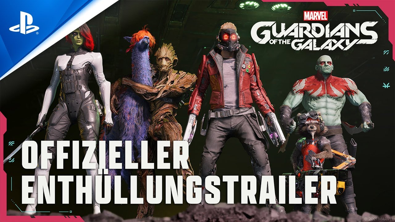 Marvel's Guardians of the Galaxy - Official Reveal Trailer PS5 & PS4
