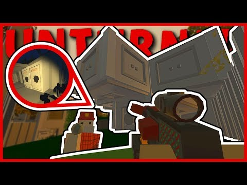 MODDED DOUBLE BASE RAID! SECRET LOCKER UNDER THE MAP? (Unturned Base Raids)