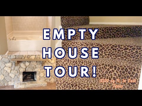 Empty House Tour | We Bought a New House! | #housetour