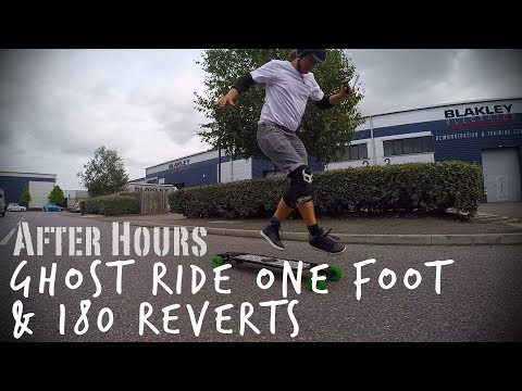 Evolve Electric Skateboards  - After Hours | Ghost Ride One Foot & 180 Reverts!