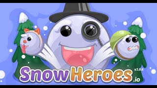 SnowHeroes.IO Full Gameplay Walkthrough