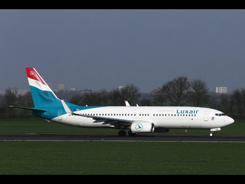 PLANE SPOTTING COMPILATION ROTTERDAM AIRPORT - Bizzjets, Luxair, Falcon 7X
