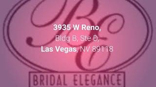 Bridal Elegance 702-364-8840