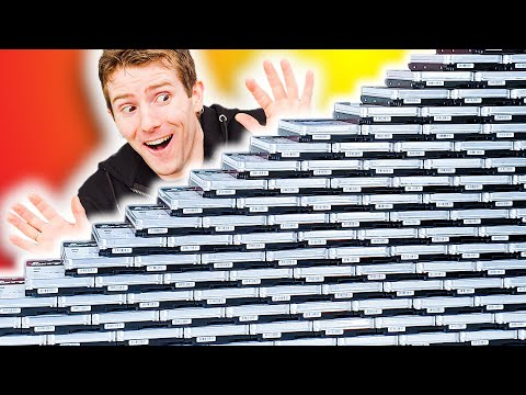Unboxing 3 PETABYTES of storage!!