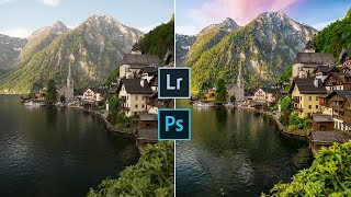 How I Edit Photos | Lightroom & Photoshop Tutorial