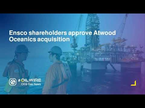 Ensco shareholders approve Atwood Oceanics acquisition