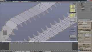 How to Model and Rig Tank Tracks in Blender Tutorial - v 2.72 / 2.73 beta