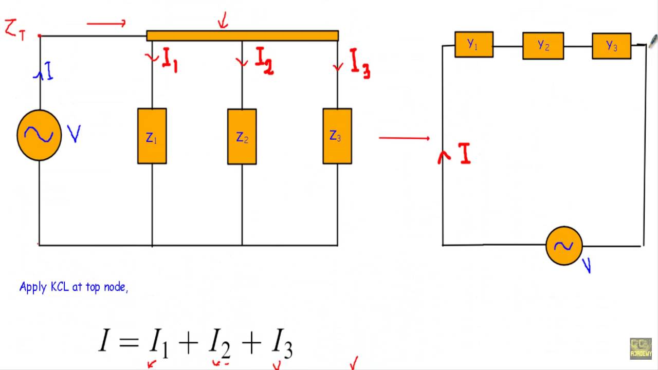 Admittance Conductance Susceptance Of Ac Circuit Youtube Impedance Rlc From Phasor Electronics Forum Circuits