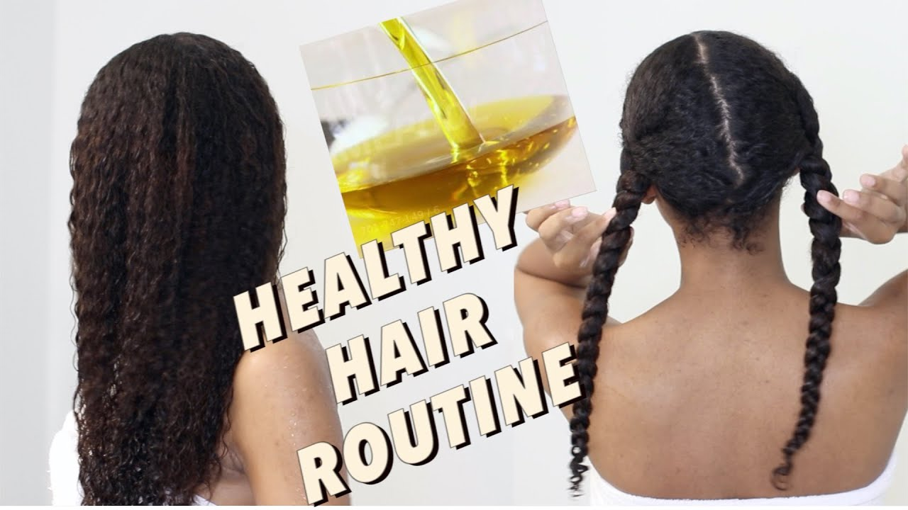 Hair Oiling Routine | Maximum Natural Hair Growth