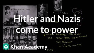 Hitler and the Nazis come to power | The 20th century | World history | Khan Academy