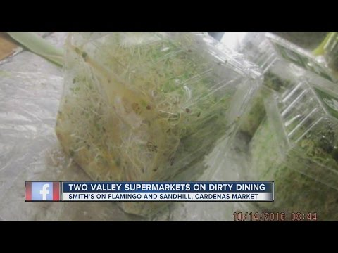 Dirty Dining presents Gross Grocers at Smith's and Cardenas