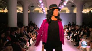 Serena Williams Fashion Show LIVE from NY Fashion Week | 2015