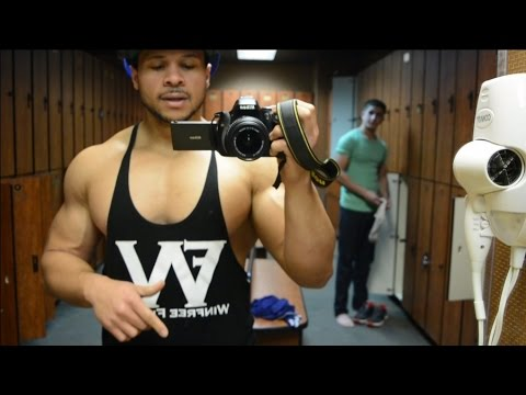 FULL CHEST WORKOUT (PUMP CHASERS BCAAS, VLOGGING, WF HOODIES)