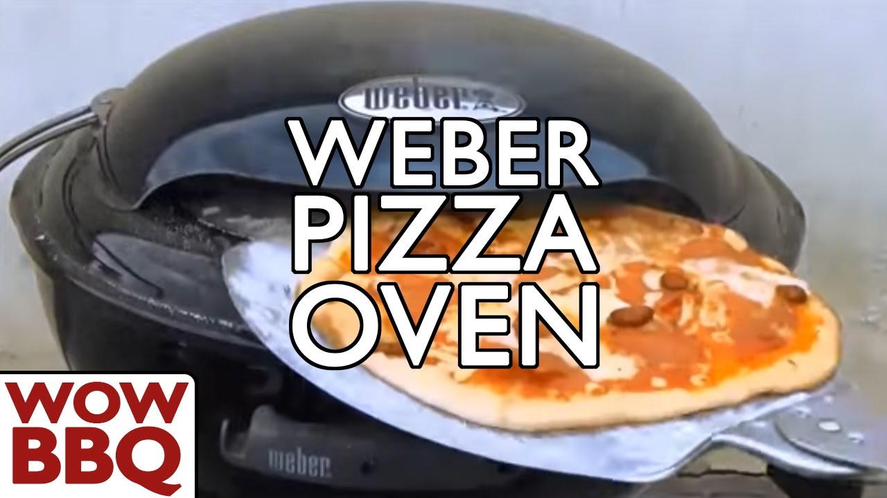 Splinterny Weber Pizza Oven - Italian Pepperoni Pizza - YouTube RG78