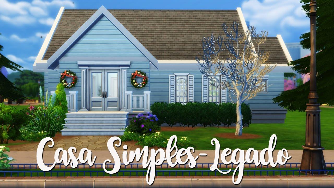 Casa simples e bonita build a house the sims 4 youtube - Casas bonitas sims 3 ...