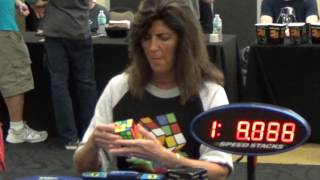 my mom: 3:07.79 official solve :3