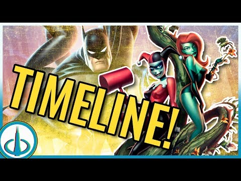 """BATMAN AND HARLEY QUINN"" Timeline! 