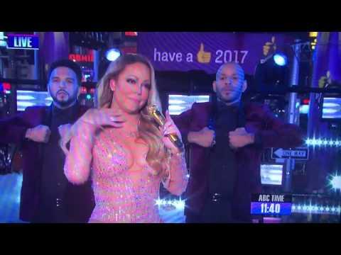 Mariah Carey NYE performance mess!