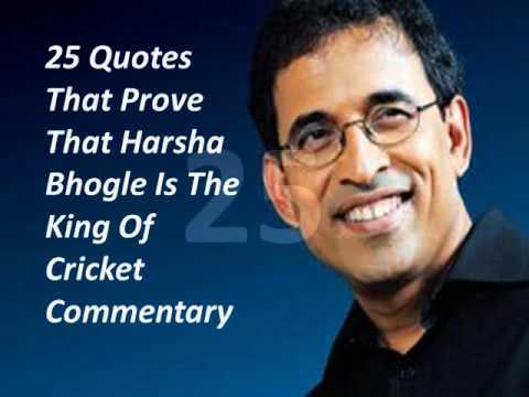 Harsha Bhogle - Best Cricket Commentary