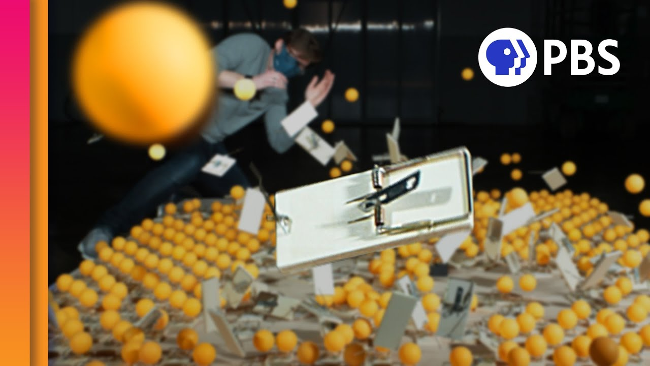 Visualizing Herd Immunity (with 500 Mousetraps!) (feat. @The Slow Mo Guys)
