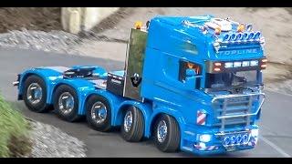 RC truck ACTION! Amazing R/C trucks at the Faszination Modellbau fair!