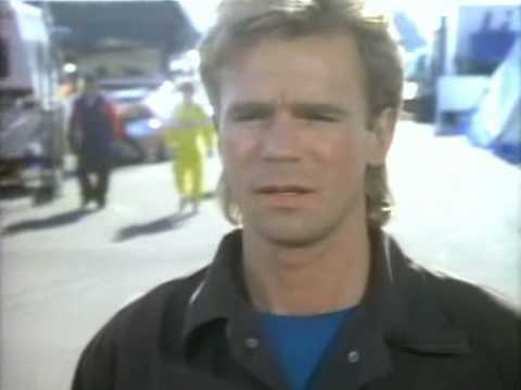 MacGyver Collision Course (1984 CART Michigan 500 crash clip)