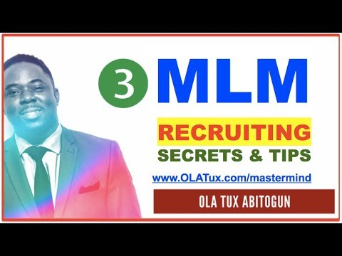 MLM Recruiting - Is the Old fashioned Face to Face Talking MLM Recruiting Dead?