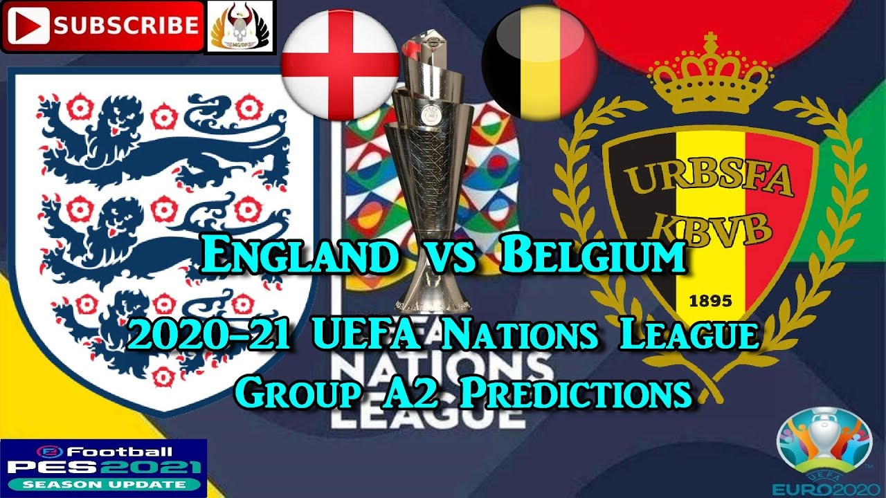 England vs Belgium   2020-21 UEFA Nations League   Group ...