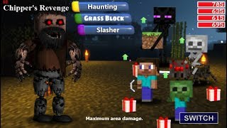 Nightmare Notch In FNaF World! Nightmare + Notch (Mod)