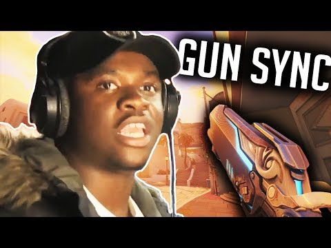 the ting go skrra but it's an Overwatch gun sync