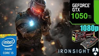 Gambar cover ironsight GTX 1050TI 4GB | Ultra Settings | 1080p