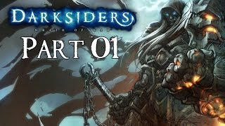 Darksiders 100% Walkthrough Part 1 ( The Charred Council )