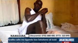 SPORTS: Eyaliko ssita wa Uganda Issa Sekatawa ali bubi