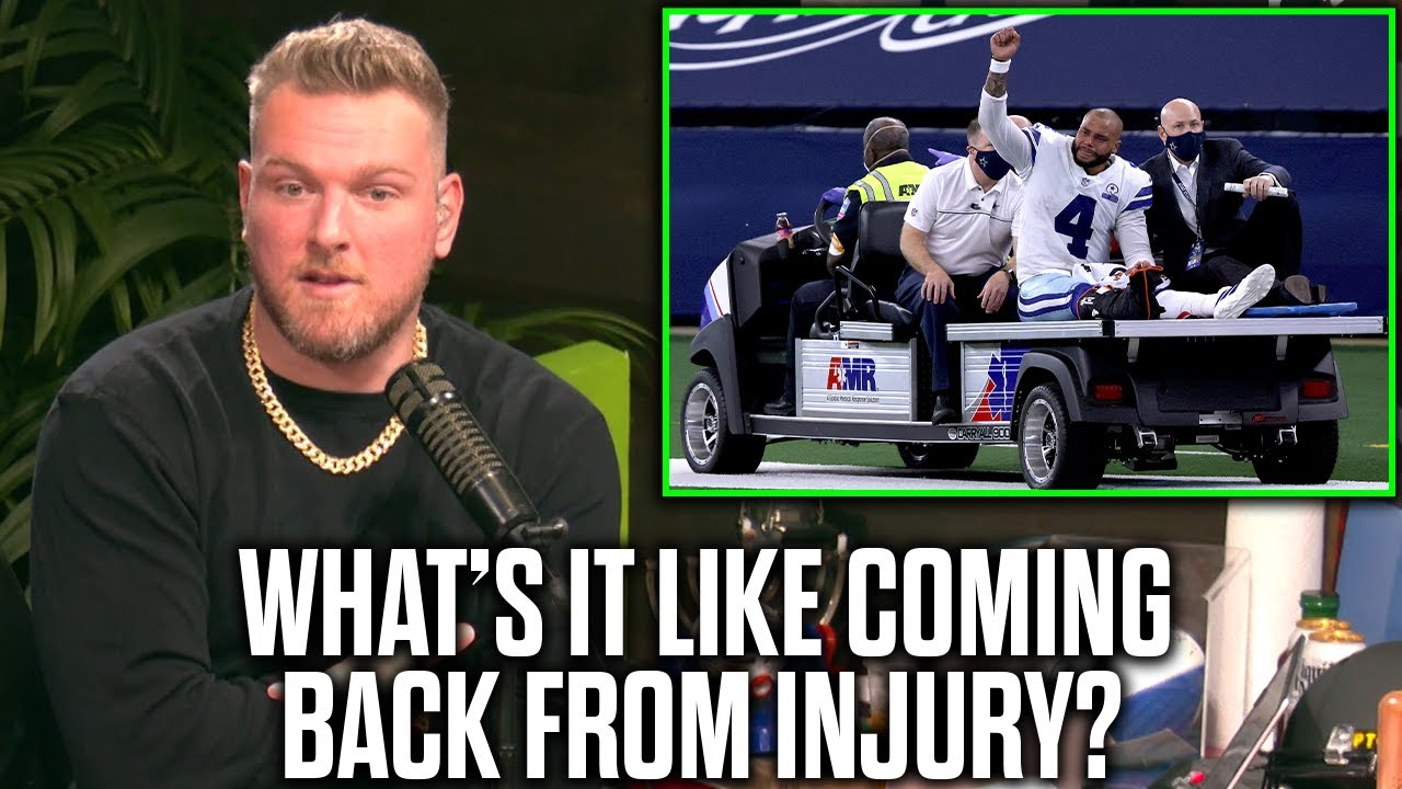 Pat McAfee Talks What Athletes Recovery Is Like After Injuries